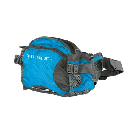 Waist/Shoulder Pack W/Bottle Holder Blue 5 Liter