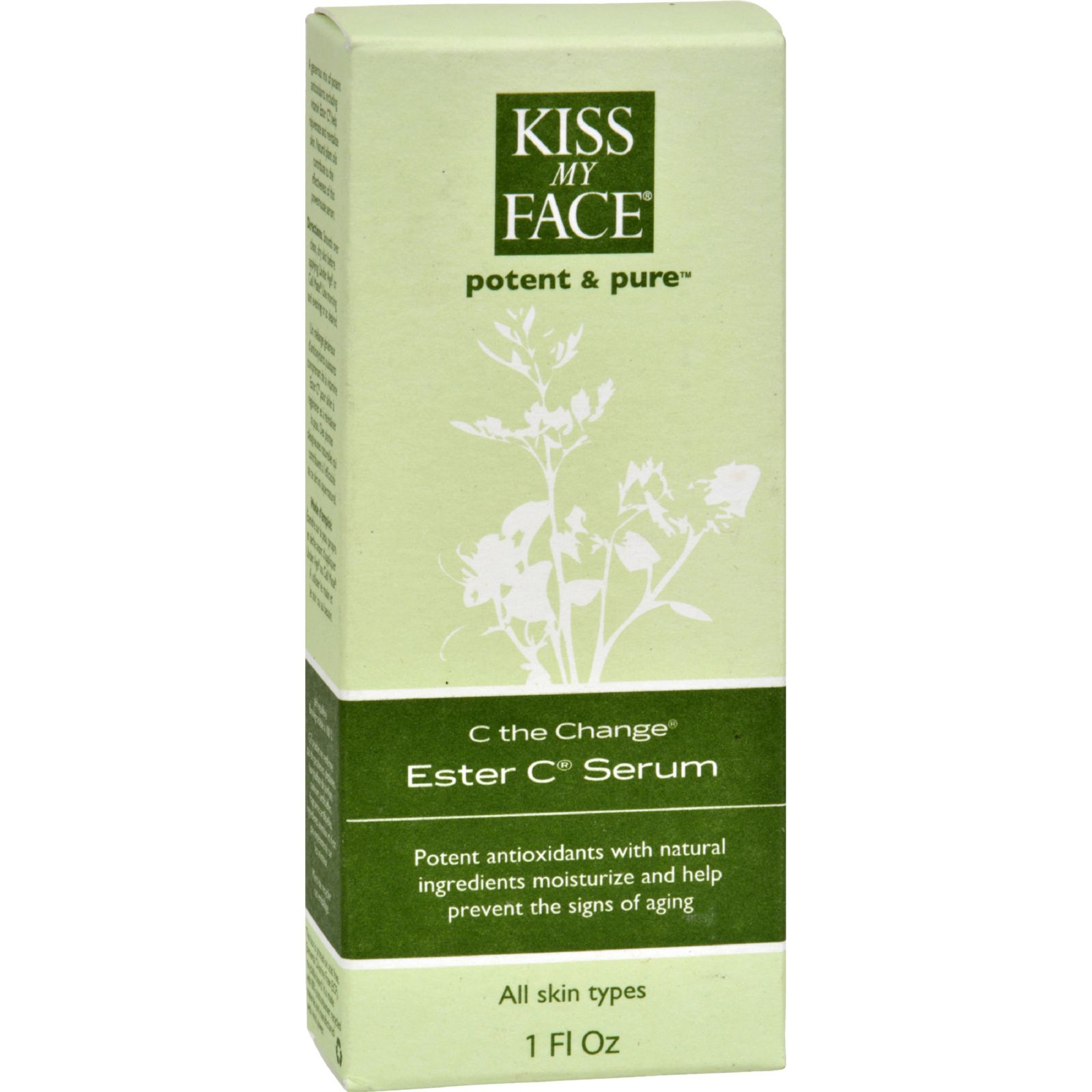 Kiss My Face C The Change Ester C Serum - 1 fl oz