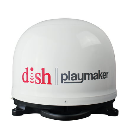 Winegard DISH Playmaker Portable Automatic Satellite Antenna, single output