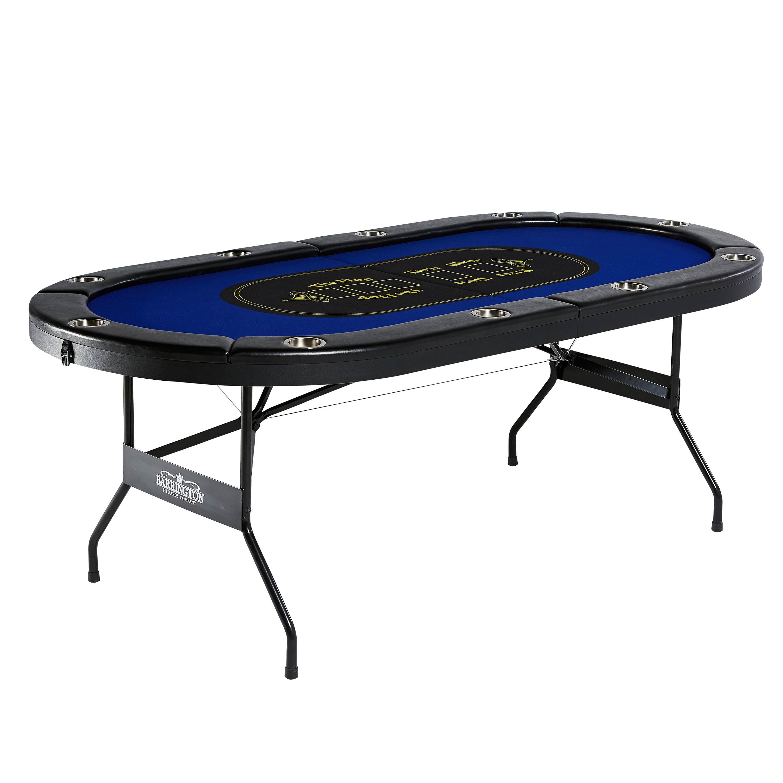 Barrington 10-Player Poker Table