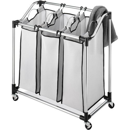 Whitmor Chrome Laundry Sorter