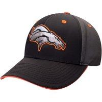 Men's Black/Charcoal Denver Broncos Blackball Gradient Adjustable Hat - OSFA