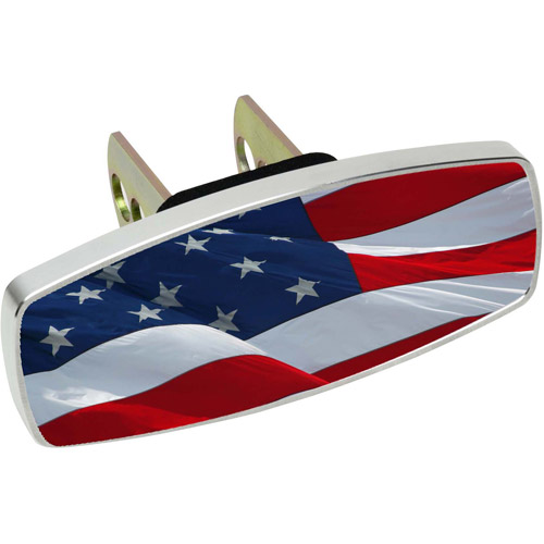 HitchMate Premier Series HitchCap, Waving USA Flag