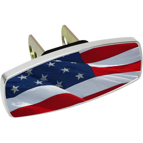 HitchMate Premier Series HitchCap, Waving USA Flag