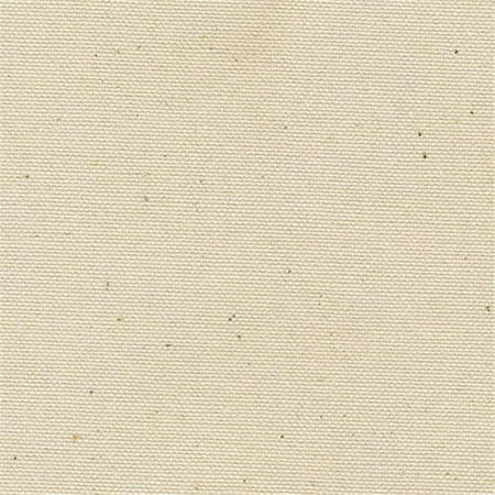 60 in. Canvas Untreated Fabric, 10 White Army Duck - 10 oz - image 1 de 1