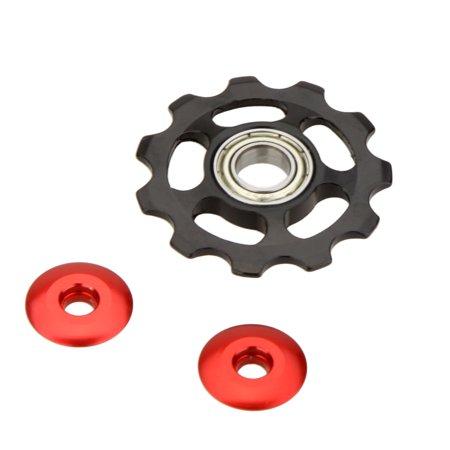 MTB Mountain Bike Road Bicycle Rear Derailleur Aluminum Alloy 11T Guide Roller Idler Pulley Jockey Wheel Part