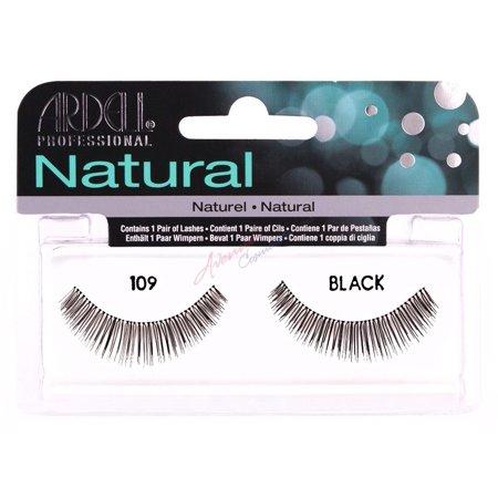 d54bb55a336 (Pack of 3) Ardell Natural Eyelashes - 109 Black - Walmart.com