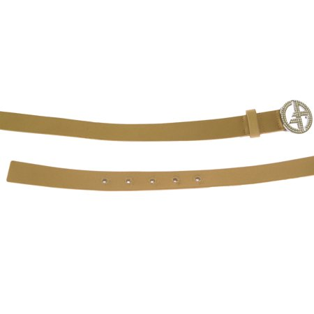 Giorgio Armani Women's Silk/Leather Belt