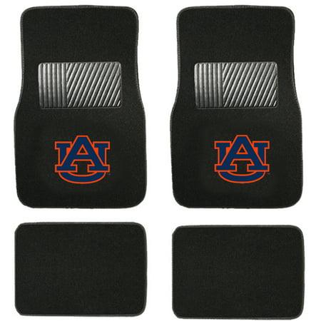University Tigers Floor (Front & Rear Carpet Car Floor Mats - NCAA - Auburn University -)