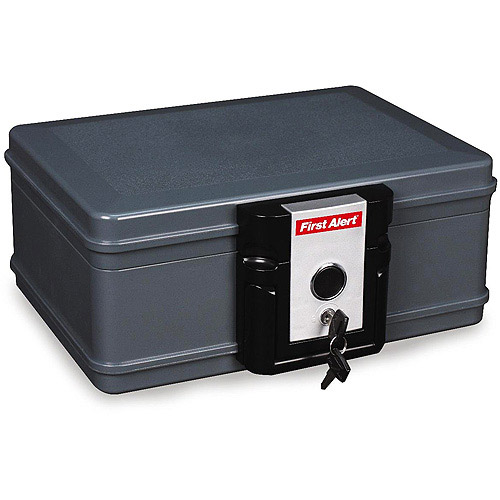 First Alert 2017F 0.19 Cubic Foot Water and Fire Protector Chest