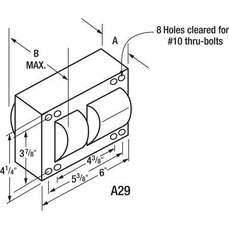 "6"" HID Ballast Kit, Philips Advance, 71A6542-001"