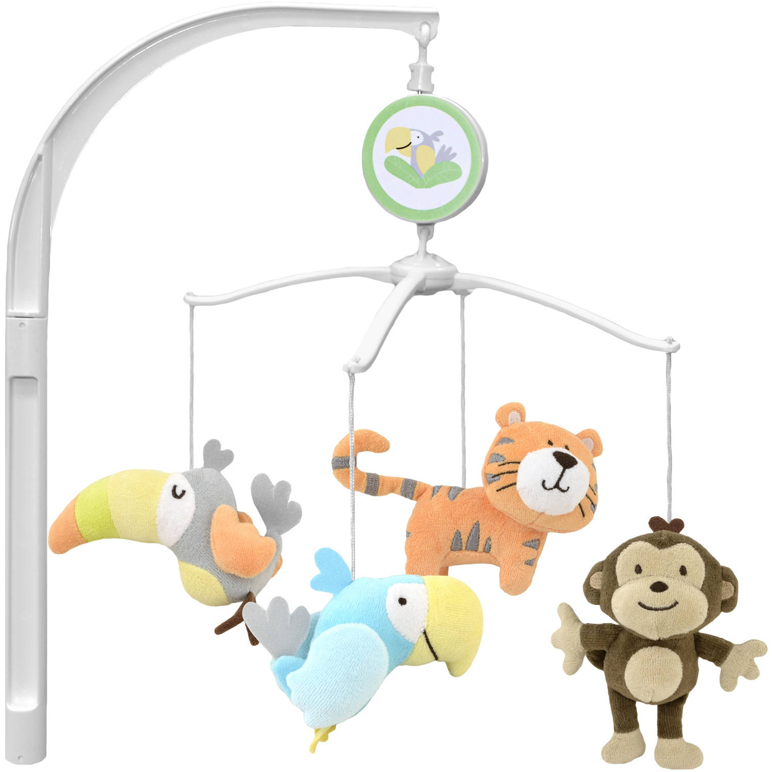 Garanimals Tropical Tree Top Musical Crib Mobile