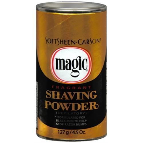 Magic Fragrant Shaving Powder 4.50 oz (Pack of 6)