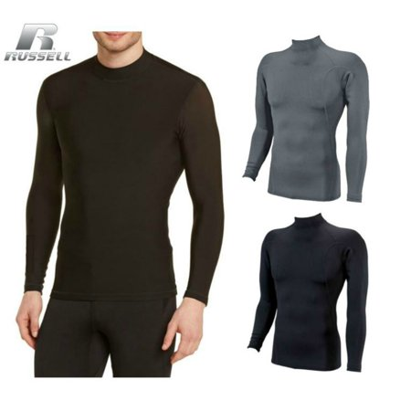 73f389bbc96 Russell Athletic - Russell Athletic Men s Dri-Power Cold Weather Mock  Turtle Neck Shirt - Walmart.com