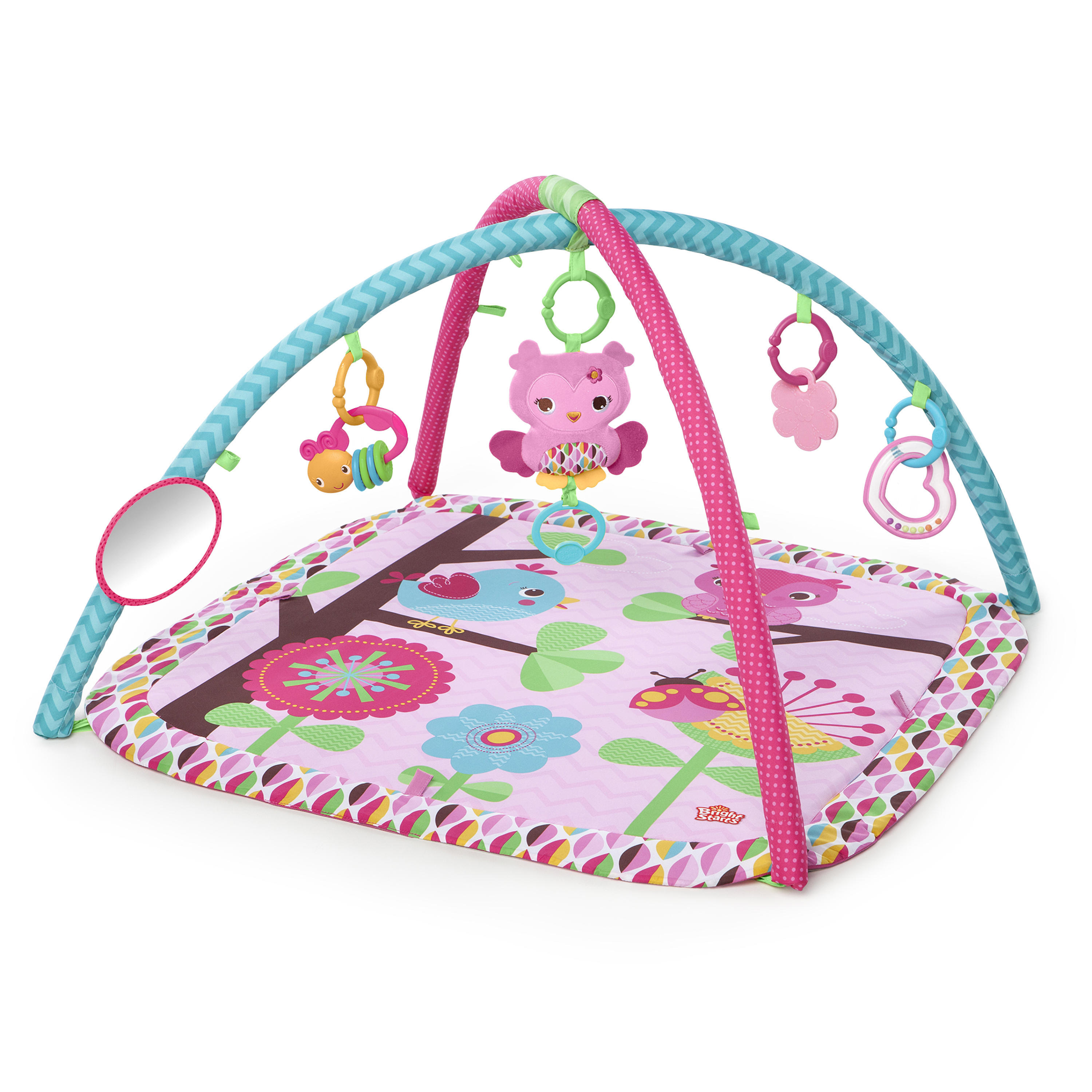 Bright Starts Activity Gym and Play Mat - Charming Chirps