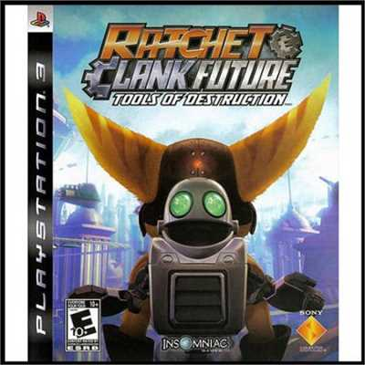 Ratchet And Clank Future: Tools Of Destruction (PS3) - Pre-Owned