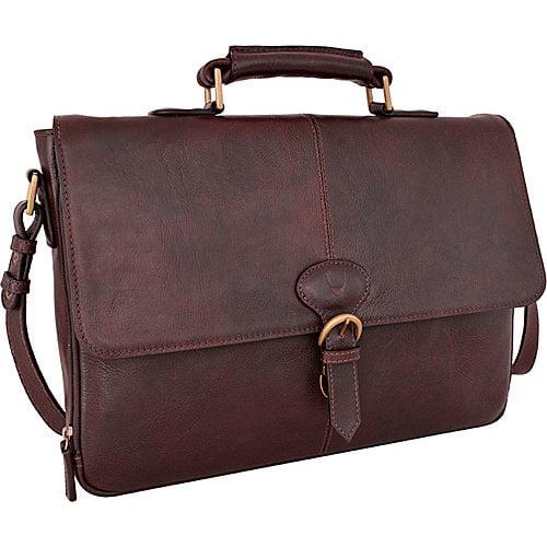 Hidesign  Parker Leather Medium Briefcase