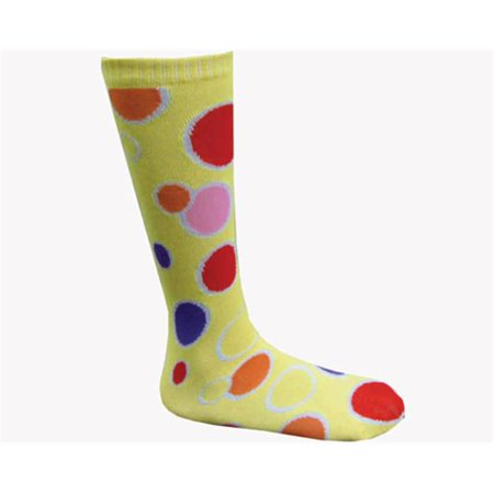 Dress Up America 648-A Yellow Circle Knee Socks - Adult (Character Dress Up Ideas For Adults)