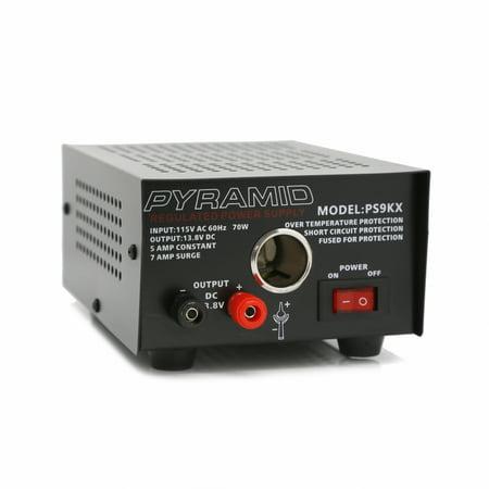 - Pyramid 5 Amp Power Supply w/Cigarette Lighter Plug