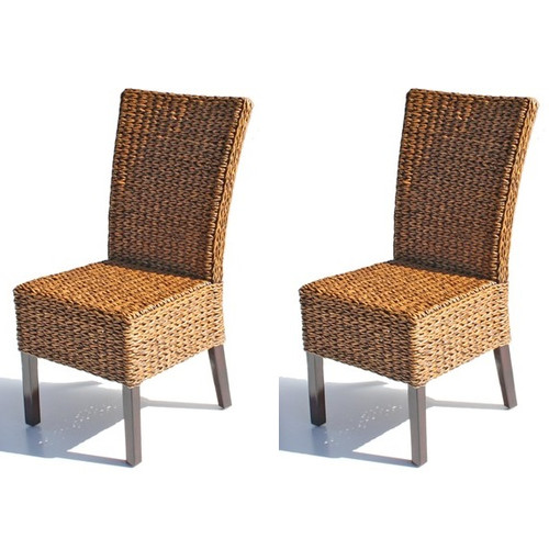 ElanaMar Designs Solid Wood Dining Chair (Set of 2)
