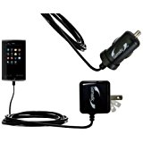 Gomadic Car and Wall Charger Essential Kit for the Coby K...
