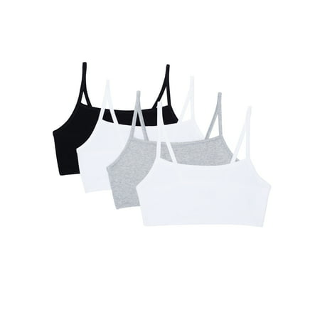 Women's Strappy Sports Bra, 4-Pack style 9036 (Discount Sports Bras)