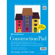Strathmore Kids Construction Paper Pad, 9in x 12in
