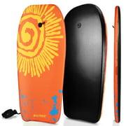 BIGTREE Bodyboard Kickboard Surfing Skimboard Wake Boogie Board Pool Toy Sun Medium 37″