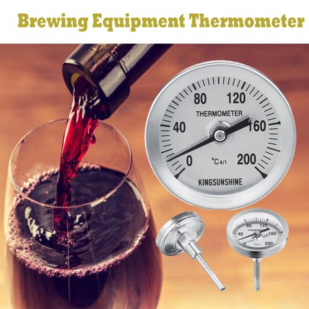 Home Brew Brewing Equipment Thermometer 20?C To 110?C for 18L 24L 30L Distiller Distilled Alcohol Beer Wine Water Still Stainless Steel Copper Spirits Boiler Distilling