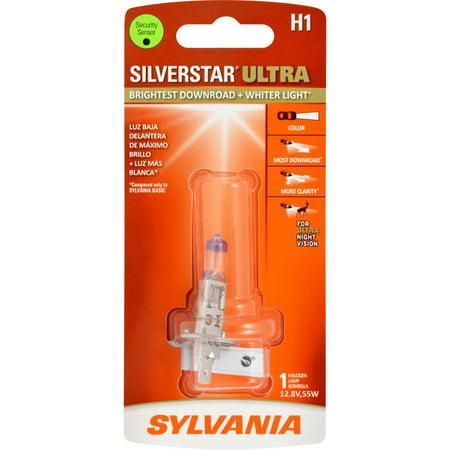 SYLVANIA H1 SilverStar ULTRA Halogen Headlight Bulb, Pack of 1