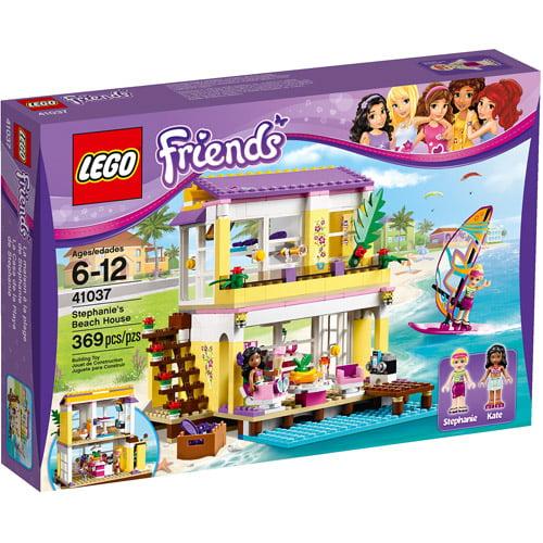 LEGO Friends Stephanie's Beach House Play Set - Walmart.com