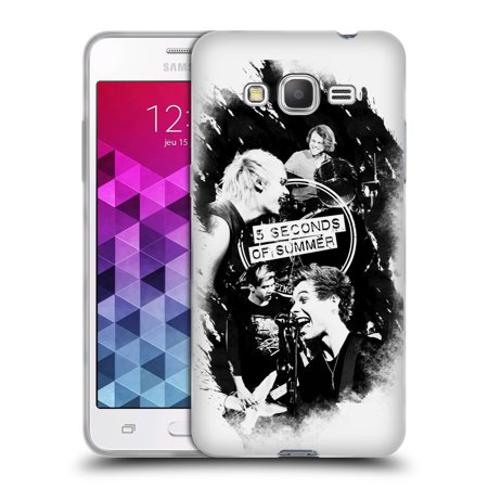 Official 5 Seconds Of Summer Group Photo Derp Soft Gel Case For Samsung Phones 3