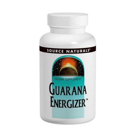 Source Naturals Guarana Energizer -- 900 mg - 100 Tablets