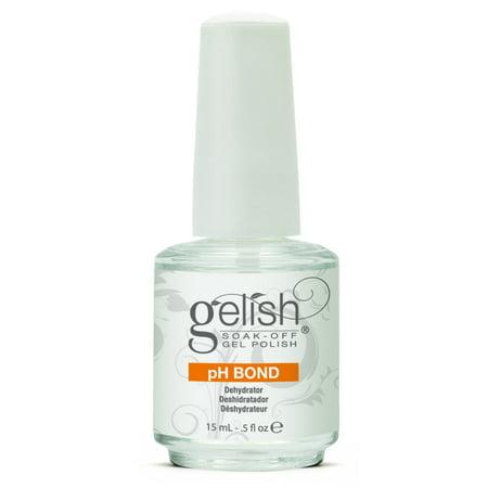 NEW Gelish Harmony pH Bond Dehydrator Nail Prep Soak Off Gel Polish 15mL .5oz (Rainbow Nails New City)