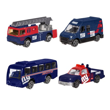 Forever Collectibles - 4 Pack Die Cast Cars, New York