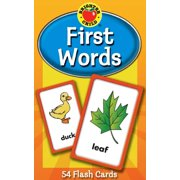 First Words Flash Cards (Paperback)