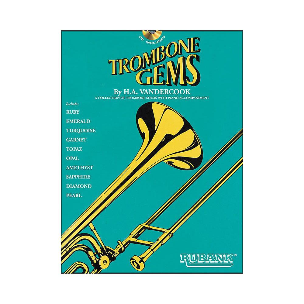 Hal Leonard Trombone Gems (Book/CD)