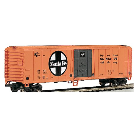 Bachmann-50' Steel Mechanical Reefer - Ready to Run - Silver Series(R) -- Santa