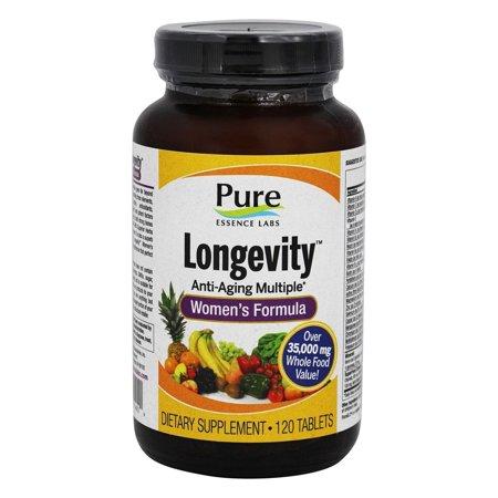 Pure Essence Labs - Longevity Women's Formula - 120 (Pure Essence Labs)