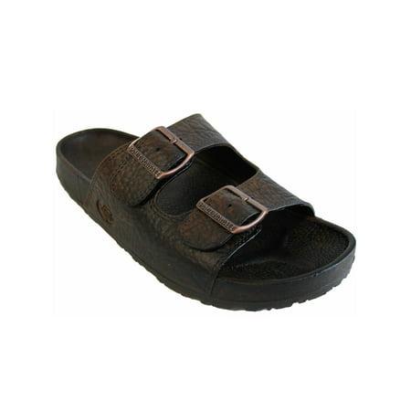 a289113b2b823 Pali Hawaii Jandals - Pali Hawaii Unisex PH 438 Slide Sandal-Brown-Size 7 -  Walmart.com