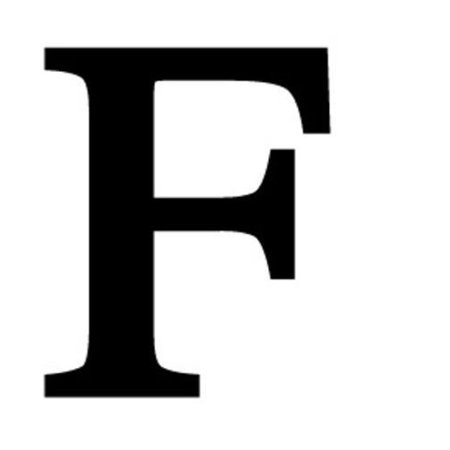 Letter F Black METAL 12 Inch Wrought Iron Signage Home Wall Art Plaque Name Sign Decoration Brass Metal Sign Letter