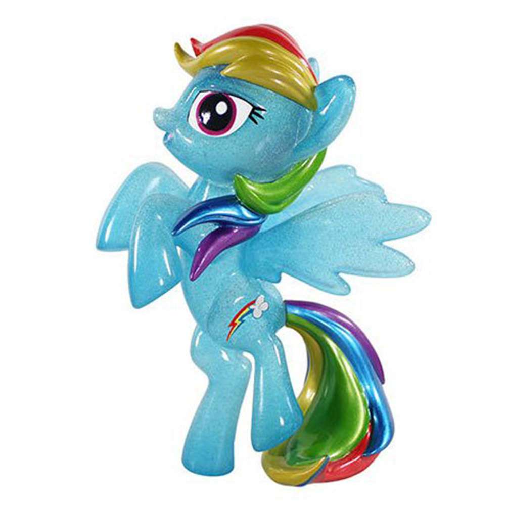 "My Little Pony Hikari 8"" Vinyl Figure: Glittered Rainbow Dash"