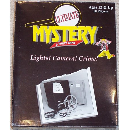 Mystery Dress Costume - Ultimate Mystery, A Party Game: Lights! Camera! Crime!