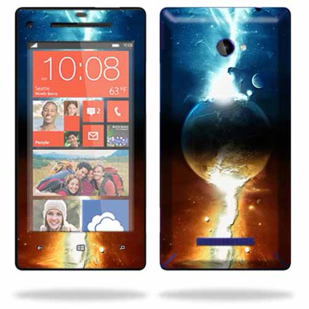 Skin Decal Wrap For Htc Windows Phone 8X Cell Phone Sticker Sci Fi