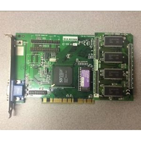 DIAMOND 23030226-205 STEALTH 3D 3000 PCI Diamond Multimedia Systems 23030226 205 Video Graphics Card 256 MB PCI