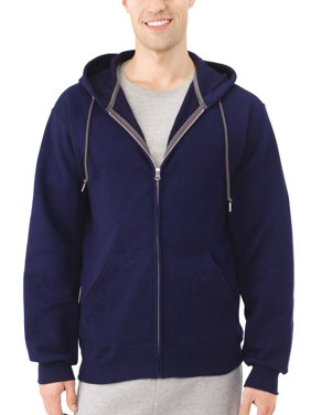 4940bbcb8edb Product Image Fruit of the Loom Men s Dual Defense EverSoft Fleece Full Zip  Hooded Sweatshirt