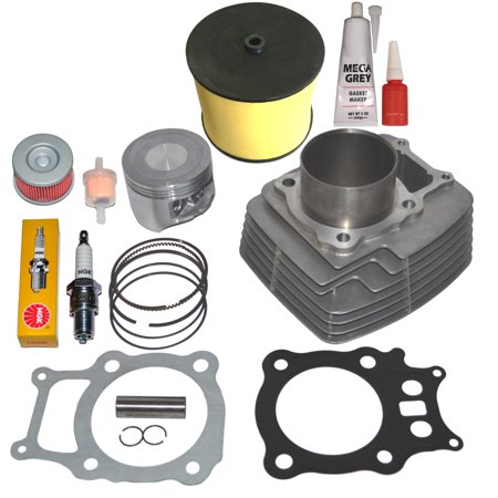 Top Notch Parts Honda Rancher Trx350 TRX 350 Cylinder Piston Rings Gasket Kit Set -