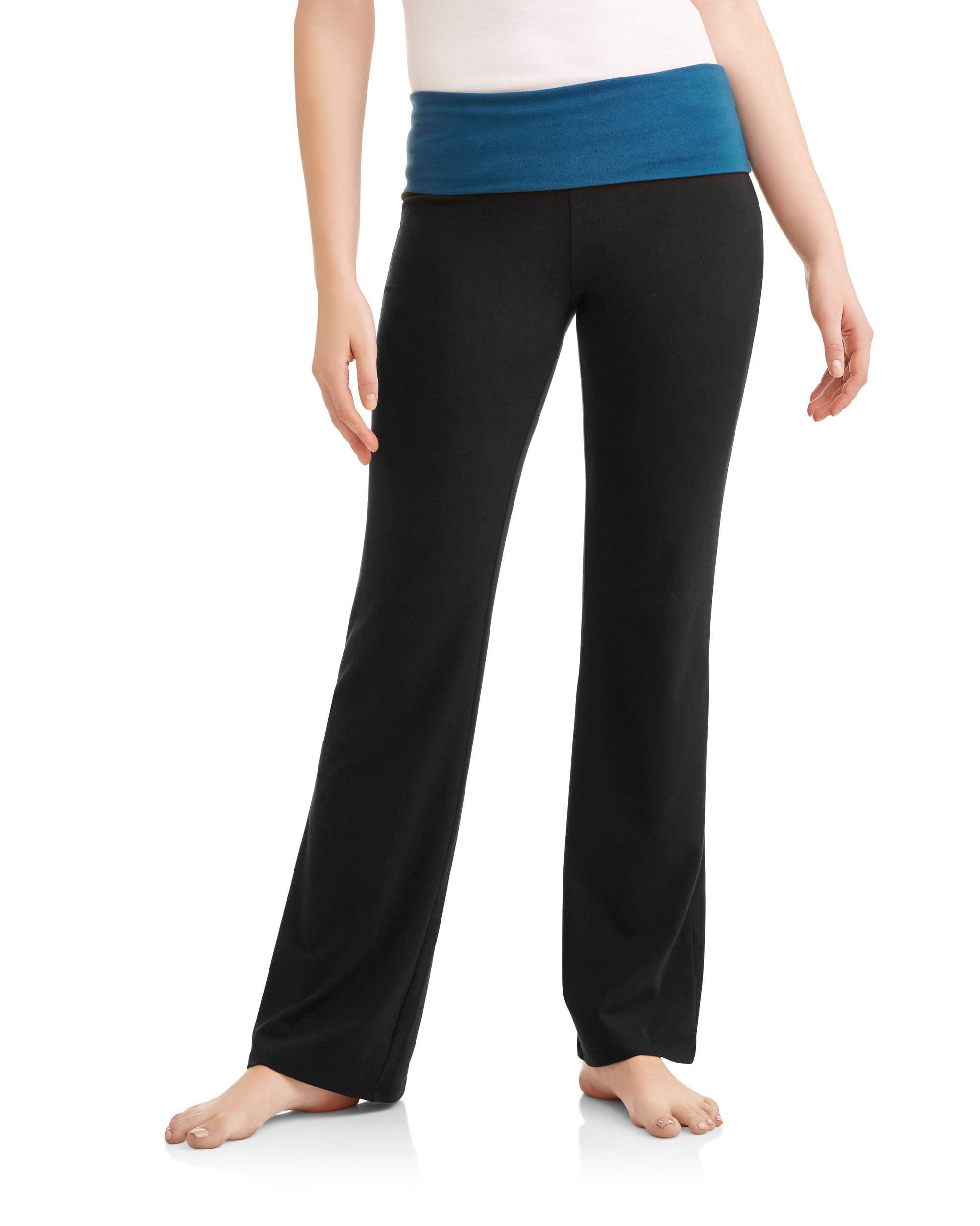 No Boundaries Juniors' Flare Yoga Pants (Prints & Solids