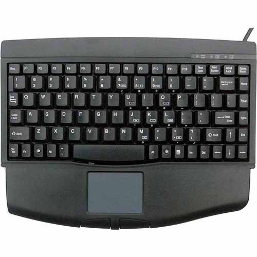 Solidtek KB-540U 88 Keys Mini Keyboard with Touchpad Mouse