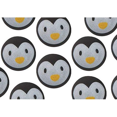 Bulk 12 Penguin Bouncy Balls - Cute Winter Party Supplies Favor Set - 1 Dozen - Bouncy Balls Bulk